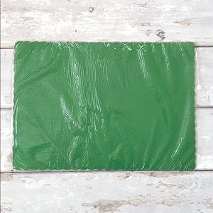 Green Placemats 6 Pack Paper Disposable 14 x 10in